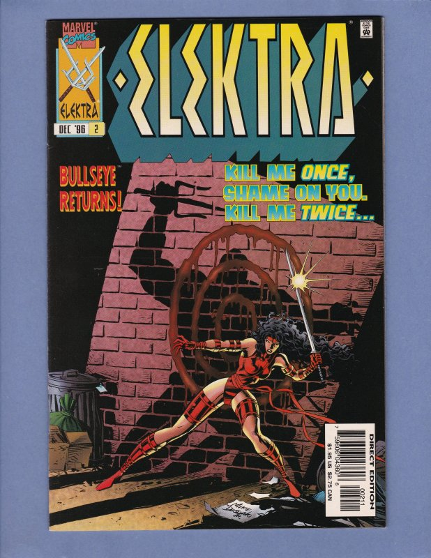 Elektra Lot #2 #3 #4 NM-/NM Marvel Dr Strange 1996 Series