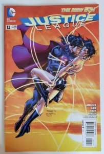 Justice League #12 1st Print New 52 DC Comics 2012 Geoff Johns Jim Lee VF 8.0