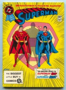 Best Of DC #19 1981- Superman- Red & Blue- DC DIGEST - NM