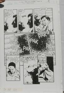CHARLIE ADLARD original art, X-FILES #28, Pg 20, 11 x 17, 1997, Walking Dead