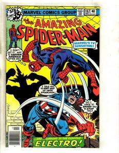 Lot Of 5 Amazing Spider-Man Marvel Comic Books # 187 188 189 190 191 Goblin GK5