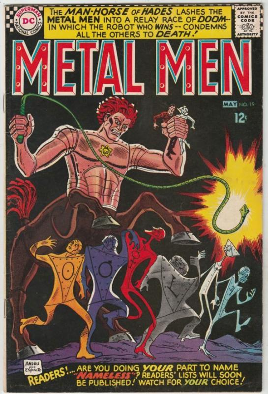 Metal Men #19 (May-65) VF/NM- High-Grade Metal Men (Led, Tina, Tin, Gold, Mer...