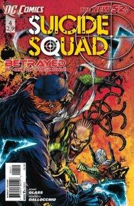 Suicide Squad #4 (VF/NM) 2012 DC Comics ID#000