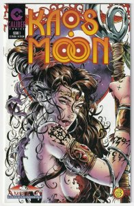 Kaos Moon #1 B 1996 Caliber Comics