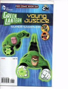 Free Comic Book Day Lot Green Lantern, Sonic, Irredeemable, Yo Gabba Gabba