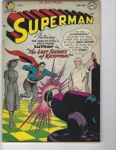 Superman 74