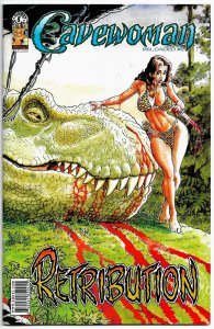 CAVEWOMAN: RELOADED #6 (Aug 2007)  Bud Root's 36 pgs of B&W DINOSAURS & DAMES!
