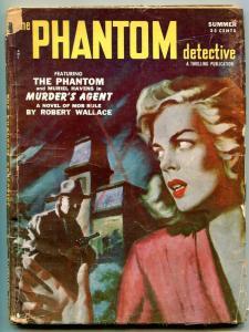 Phantom Detective Pulp Summer 1953- FINAL ISSUE- Murder's Agent