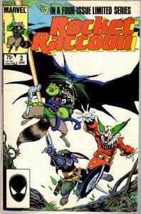 ROCKET RACCOON 2 VG  June 1985