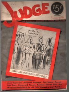 Judge 9/1941-jokes & cartoons-pre WWII-FR/G