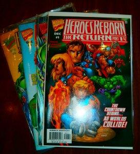 Heroes Reborn  : The Return   #1-4 (complete set)