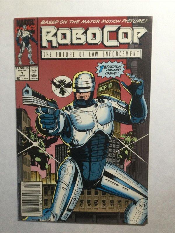 Robocop 1 Newsstand Edition Near Mint Nm Marvel