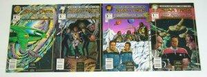 Star Trek: Deep Space Nine: Hearts & Minds #1-4 VF/NM all newsstand variants 2 3