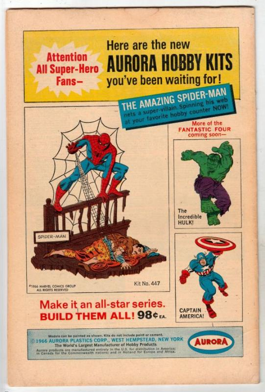 Strange Tales #153 (Feb-67) VF High-Grade Nick Fury, Dr. Strange
