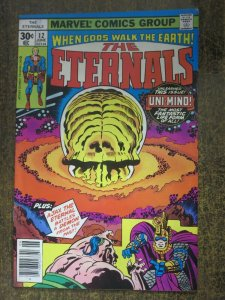 ETERNALS #12 (Marvel Comics,6/1977) VERY GOOD (VG) First Uni-Mind!