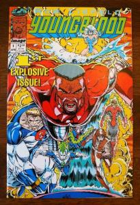 YOUNGBLOOD #1, VF/NM, Rob Liefeld, Image Comics 1992  more Indies in store