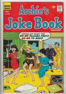 Archie's Joke Book # 110 Strict FN/VF Mid-High-Grade Cover Girls Pajama Party