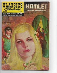 Classics Illustrated #99 HRN 169 FN