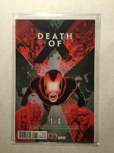 Death Of X 1 Near Mint Nm Marvel