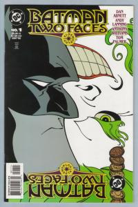 Batman - Two Faces 1  Nov 1998 NM- (9.2)