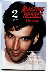 AMAZING HEROES INTERVIEWS #2 1993 TODD MCFARLANE ISSUE