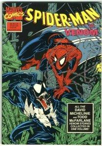 Spider-Man vs. Venom 1st printing TPB - Marvel - 1990
