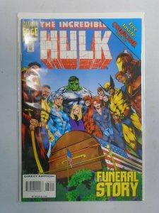 Incredible Hulk #434 4.0 VG water damaged (1995 1st Series)