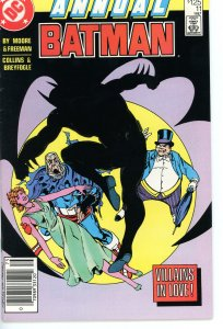 Batman Annual 11 F/VF 1987 Alan Moore story