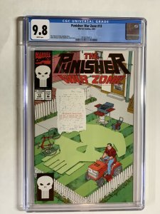 Punisher War Zone 13 Cgc 9.8 Wp Marvel Only 4 On Census