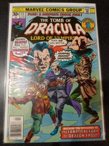 THE TOMB OF DRACULA #53 BLADE