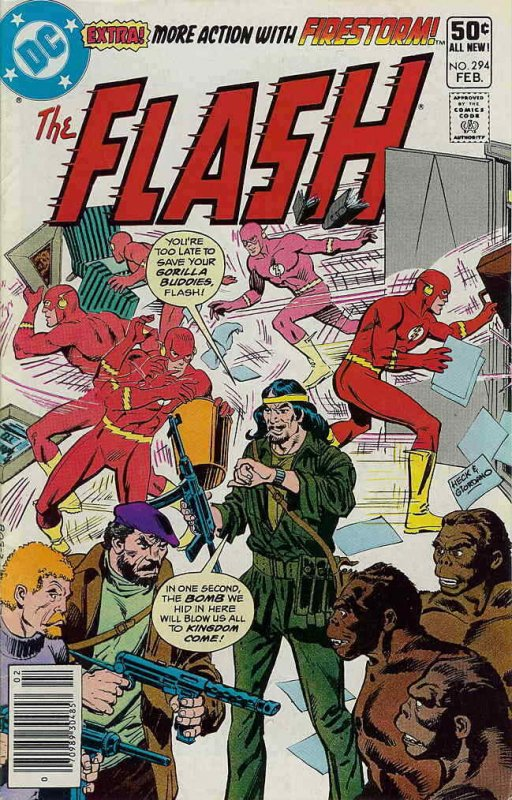 Flash, The (1st Series) #294 (Newsstand) FN; DC | save on shipping - details ins