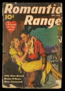 ROMANTIC RANGE MAY 1938-BURRELL-FARNSWORTH-O'HEARN-PULP G