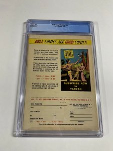 Dick Tracy Monthly 24 Cgc 7.5 Ow Pages Dell Publishing Golden Age