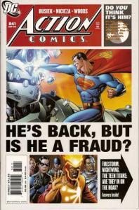 Action Comics (1938 series) #841, NM (Stock photo)