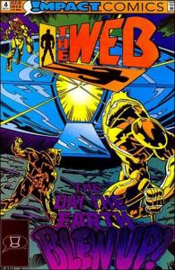 Impact THE WEB (1991 Series) #4 VF