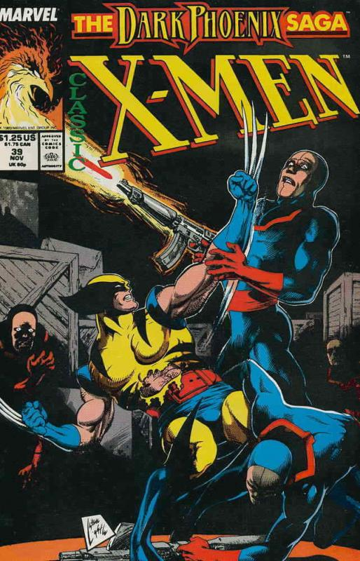 Classic X-Men #39 VF; Marvel | save on shipping - details inside