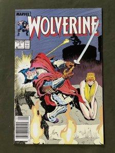 Wolverine #3 (1989 Marvel)