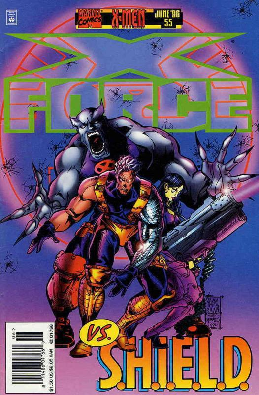 X-Force #55 VF/NM Marvel - save on shipping - details inside