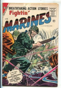 Fightin' Marines #19 1956-Charlton-navy nurse story-combat cover-VG-