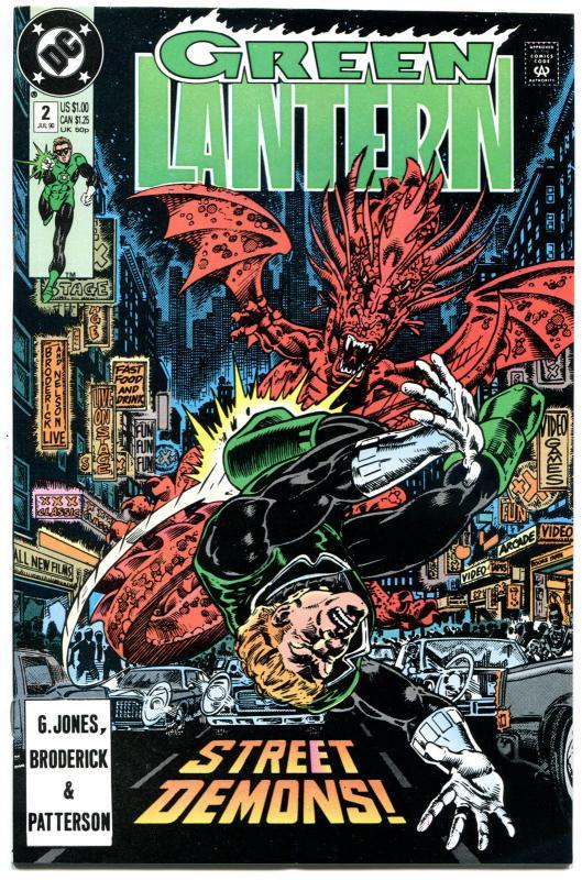 GREEN LANTERN #2, NM+, Guy Gardner, Hal Jordan, 1990, Rings, more GL in store