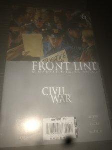 Civil War: Front Line #6 (2006) Mint