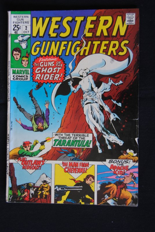 Western Gunfighters, #2, 7.5, white pages and glossy.