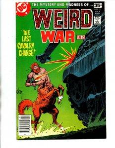 Weird War Tales #65 newsstand - DC Horror - 1978 - VF