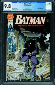 Batman #450 CGC 9.8 Classic JOKER cover DC 2045260004