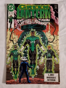 Green Lantern 6 Fine+ Art by Pat Broderick and Bruce Patterson