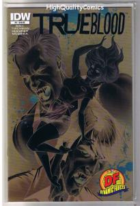 TRUE BLOOD #2, VF+, Vampire, Sookie, Limited Variant, 2010, more TB in store