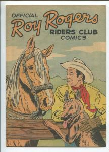 ROY ROGERS RIDERS CLUB 1952 -PREMIUM GIVE-AWAY-TRIGGER-BULLET-HIGH GRADE-vf/nm