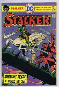 Stalker #2 ORIGINAL Vintage 1975 DC Comics