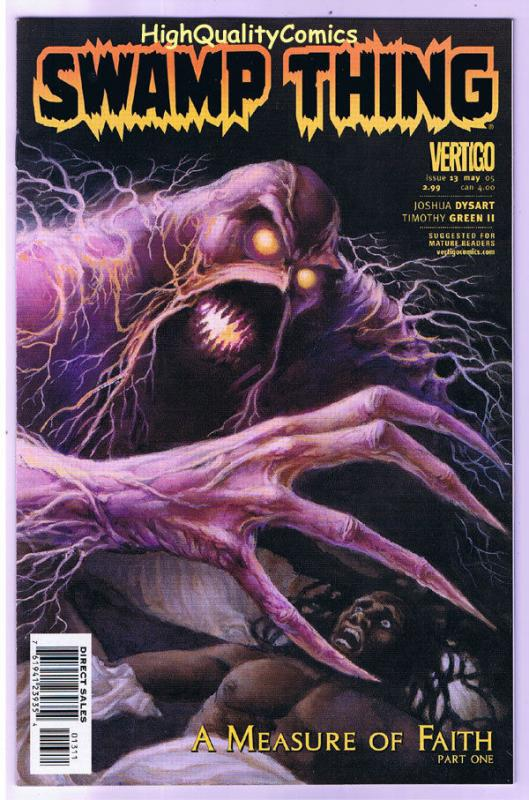 SWAMP THING #13, NM+, Vertigo, Measure of Faith, 2004, more in store