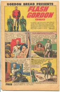Flash Gordon 1951-Gordon bread-Alex Raymond art-16 pages-VG